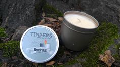 Bonfire Tinders Soy Candle