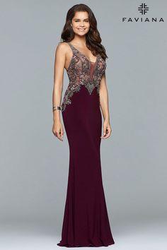 Faviana S10002 - Formal Approach Prom Dress