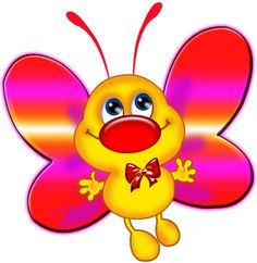 super Ideas for embroidery designs butterfly clip art Cartoon Butterfly, Butterfly Clip Art, Cute Images, Cute Pictures, Butterfly Project, Crochet Monsters, T Shirt Painting, Cute Clipart, Hand Embroidery Designs