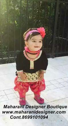 #BabySuits Maharani Designer Boutique www.maharanidesigner.com Cont.8699101094 Baby Girl Dress Design, Baby Girl Dresses, Baby Dress, Girls Suit, Kids Suits, Princess Outfits, Girl Outfits, Kids Indian Wear, All Black Dresses