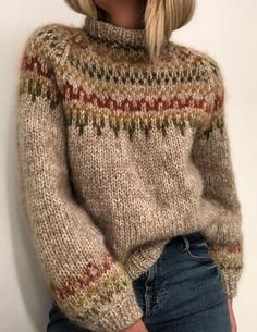 Ravelry 289497082299086332 - Ravelry: Skaanevik sweater pattern by Siv Kristin Olsen Source by gr_bye Icelandic Sweaters, Thick Sweaters, Cozy Sweaters, Fall Sweaters For Women, Casual Sweaters, Winter Sweaters, Sweater Weather, Winter Sweater Outfits, Casual Shirts