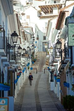 Streets of Mijas, Spain by eVision.pl on @creativemarket