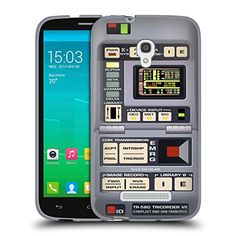 Official Star Trek Tricorder Gadgets TNG Soft Gel Case for Alcatel Pop S9 -- Read more reviews of the product by visiting the link on the image.