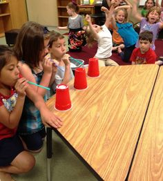 Minute to Win It games for the classroom!