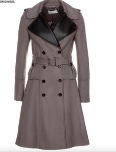9884a7f8df42 Karen Millen Glamorous Wool Cashmere Military Coat Size 12  fashion   clothing  shoes