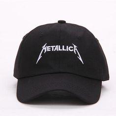 Black Metallica Cap Dad Hat Dad Hats 16c069095b6d