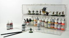 XCase Clear Modular Miniatures Display and Transport by Active Minds Games — Kickstarter