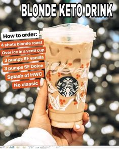 Keto Starbucks Drinks: 15 Low-Carb Orders - Green and Keto - Keto Starbucks Drinks: 15 Low-Carb Orders - Green and Keto Food! Keto Starbucks Drinks: 15 Low-Carb Orders - Green and Keto - Atkins, Yummy Drinks, Healthy Drinks, Junk Food, Starbucks Secret Menu Drinks, Starbucks Coffee, Sugar Free Starbucks Drinks, Starbucks Hacks, Iced Americano Starbucks