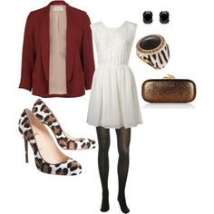 A touch of animal print  (paint white/cream shoes with animal print...hmmm...?)