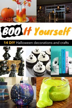 Ghosts, skulls & pumpkins! We've got the DIY projects to keep you howling until Halloween!