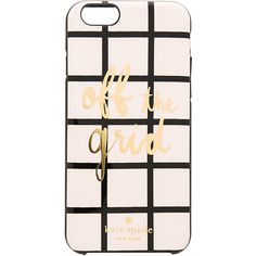 Kate Spade New York Off The Grid iPhone 6/6s Case ($40) ❤ liked on Polyvore featuring accessories, tech accessories and kate spade