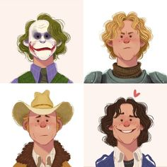 Heath Ledger  Yesterday he wold have completed 38 years.   #heathledger #joker #aknightstale #brokebackmountain #10thingsihateaboutyou