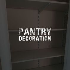 How to shelve and decorate your pantry for the perfect utility room #pantry #utilityroom #kitchen #houseprojects #homeimprovements