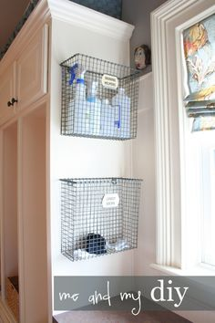 Great Laundry Room Makeover at Me and My DIY