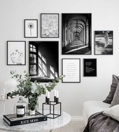 Gallery wall inspiration - Find these posters and more beautiful prints like thi. Gallery wall ins Inspiration Wand, Interior Styling, Interior Design, Home Furnishings, Home Furniture, Family Room, Bedroom Decor, Living Room, Home Decor