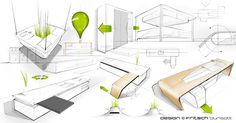 Mobalpa - Iris on Behance Drawing Sketches, Sketching, Furniture Sketches, Iris, Bamboo Panels, Product Design, Behance, Industrial, Industrial Music