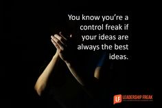 Very helpful article on how to deal with leaders who are difficult and controlling