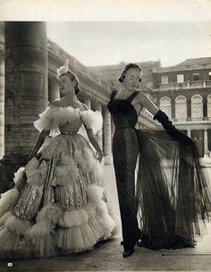 Paris-New York 1950 Jacques Fath talks about American Women. Christian Dior. Françoise Estachy.
