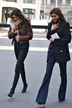 Emmanuelle Alt's Closet - I Want To Be An Alt - J Brand Lovestory bellbottom jeans