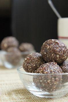 Boulettes énergie chocolat et noisettes1.2.3. Veggie | 1.2.3. Veggie !