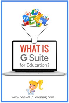 G Suite for Education: Explained (and a FREE Google Doc!)  If you are new to Google, or if you want to become a Google Certified Educator or Trainer, you should learn the basics of G Suite for Education. (It will be on the Level 1 exam.) What is it? What does it include? How does it help teachers and students?