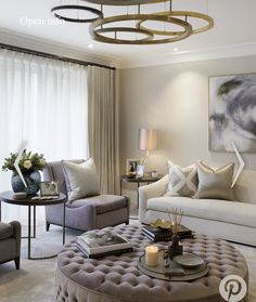 35 The Best Luxury Living Room Designs from Favorite Celebrities Trap - gameofthron Home Living Room, Apartment Living, Interior Design Living Room, Living Room Designs, Living Room Decor No Tv, Living Room Side Tables, Interior Livingroom, Living Area, Dining Room