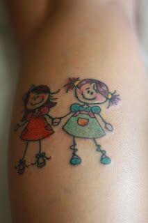 tattoo de bonequinha de filha - Pesquisa Google