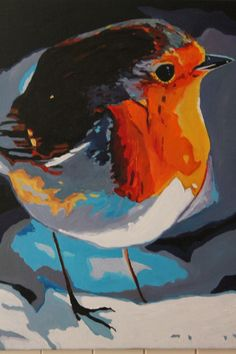 ARTFINDER: Mr Robin by Emma Cownie -