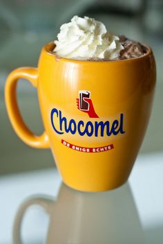 Chocomel!  Oh, what memories!!  A nice hot cup on a chilly, rainy day was perfect ;)