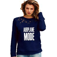 Airplane mode sweatshirt- US womens sweatshirt- beehive gg lv shirt - Adultish Shirt - Ideas of Adultish Shirt - Airplane mode sweatshirt- US womens sweatshirt- beehive gg lv shirt Bride Sweatshirt, Graphic Sweatshirt, Custom T Shirt Printing, Custom Shirts, 30th Birthday Shirts, Feminist Shirt, Airplane Mode, Pregnancy Shirts, Casual Wear