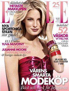 Caroline Winberg - Elle Sverige, april 2013