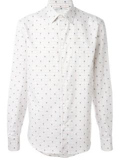 ALEXANDER MCQUEEN Skull And Check Print Shirt. #alexandermcqueen #cloth #shirt