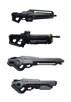 Gun thumbnails by JoshK | ID | Sketchwork