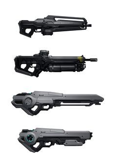 Gun thumbnails by JoshK   ID   Sketchwork