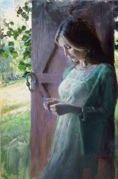 Gallery of artist Vladimir Volegov, portraits of very beautiful women. Woman Painting, Figure Painting, Painting & Drawing, Vladimir Volegov, Beauty In Art, Mystique, Russian Art, Fine Art, Beautiful Paintings