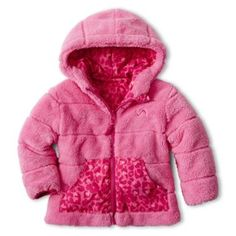 0a75130b0c Vertical 9 Hooded Reversible Monkey Fleece Jacket – Girls 2t-6t found at   JCPenney