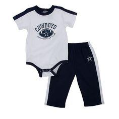 NFL Dallas Cowboys Infant Bodysuit and Pant Set