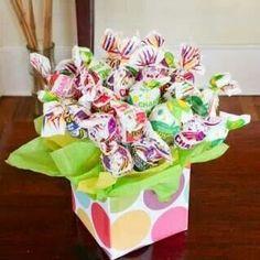 Caja con cake pops