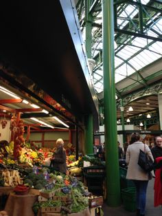 Kate's class - Borough Market.  Journey from St Paul's Cathedral to Borough Market, crossing paths with an assortment of fantastic characters as you go. Soak in the atmosphere of the South Bank and its amazing history, as your companions divulge secrets from London's dramatic past, from the Great Plague to the Second World War. The South Bank tour is a wonderful way to immerse yourself in London's dark and fascinating history.