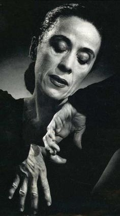 "Martha Graham: ""There is a vitality, a life force, an energy, a quickening that is translated through you into action, and because there is only one of you in all of time, this expression is unique. . ."""