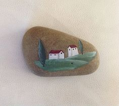 Hand painted rock / beach stone / gift / Stone by StudioCreARTiv, €11.90