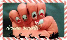 video de diseño de uñas para navidad!