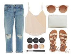 """""""#31"""" by mandyhoran1 ❤ liked on Polyvore featuring Jil Sander, Billabong, Chelsea Flower, rag & bone and Bare Escentuals"""