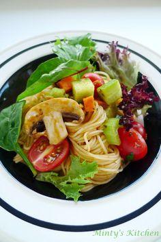 Sundried Tomato Pesta Pasta Salad