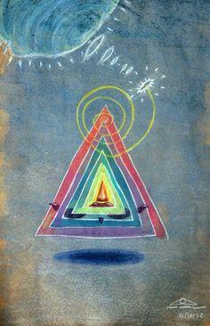 """€du∆rdo √.- drawings, colored pencils, water color - """"autoretrato"""""""