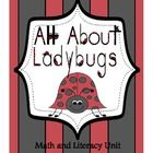 Sprintime is the perfect time to learn all about ladybugs.  This unit capitalizes on a child's delight with ladybugs to present key math and literacy concepts.  The students will engage in activities such as ladybug addition and subtraction poem and activities, graphing, writing prompt and drawing page, roll and cover dice game, three very cute ladybug crafts and much, much more!