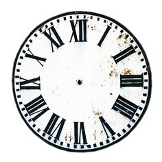New Years Free Clock Face Printables Cd Size And Plate  Clock