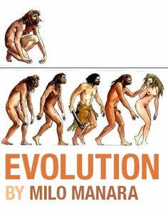 Evolution by Milo Manara