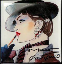 Fashion Illustrator 8- Antonio Lopez