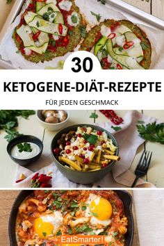 Keto Foods, Keto Recipes, Vegetarian Recipes, Dinner Recipes, Healthy Recipes, Paleo Diet, Keto Meal, Clean Eating, Healthy Eating